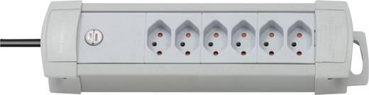 Brennenstuhl 5552026 Steckdosenleiste ohne Schalter 6fach Lichtgrau CH-Stecker