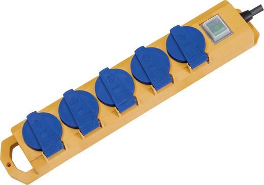 Super-Solid Steckdosenleiste mit Schalter 5-fach IP44 Brennenstuhl