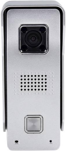 IP-Video-Türsprechanlage Außeneinheit ELEC IP Doorcam 1 Familienhaus Silber