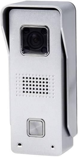 IP-Video-Türsprechanlage WLAN, LAN, Kabelgebunden, Kabellos Außeneinheit ELEC IP Doorcam 1 Familienhaus Silber