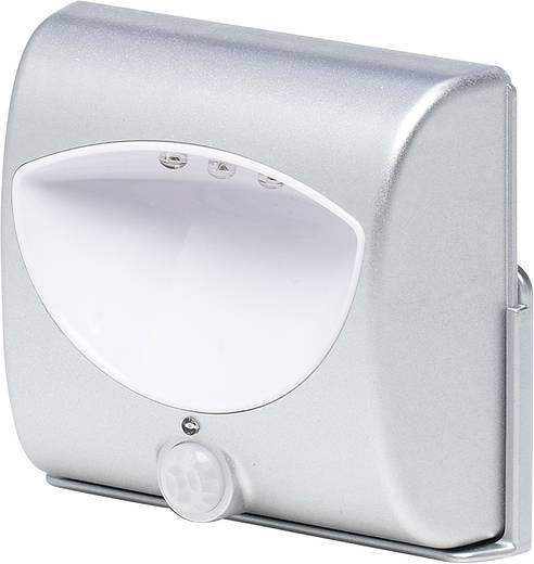 LED-Wandleuchte mit Bewegungsmelder Quadratisch LED (einfarbig) Grundig Weiß-Silber