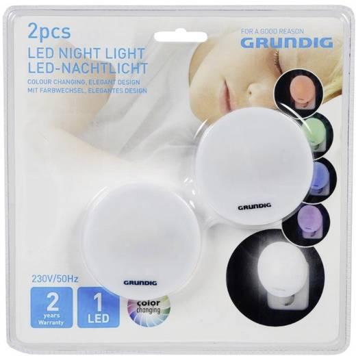 Grundig Nachtlicht Rund LED (RGB) RGBW Weiß