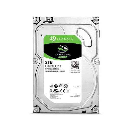Interne Festplatte 8.9 cm (3.5 Zoll) 2 TB Seagate BarraCuda ST2000DM006 SATA III