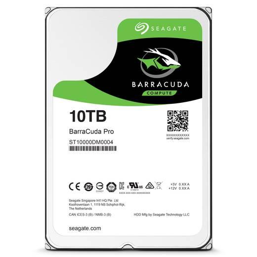 Interne Festplatte 8.9 cm (3.5 Zoll) 10 TB Seagate BarraCuda Pro ST10000DM0004 SATA III