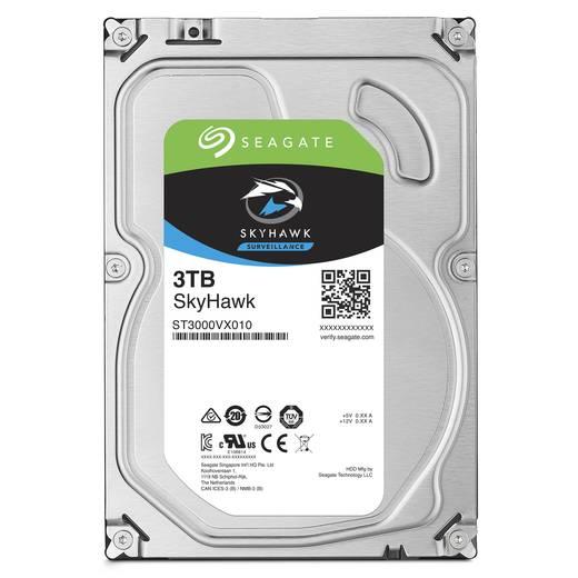 Interne Festplatte 8.9 cm (3.5 Zoll) 3 TB Seagate SkyHawk ST3000VX010 SATA III
