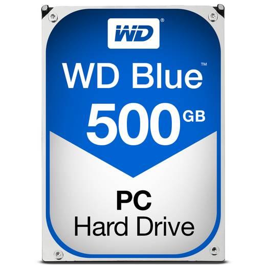 Western Digital WD5000AZLX Interne Festplatte 8.9 cm (3.5 Zoll) 500 GB Blue™ SATA III