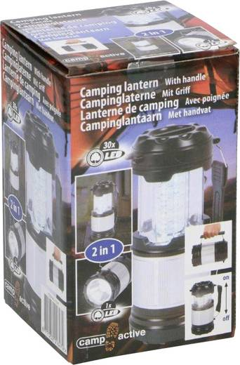LED Camping-Laterne Camp Active batteriebetrieben