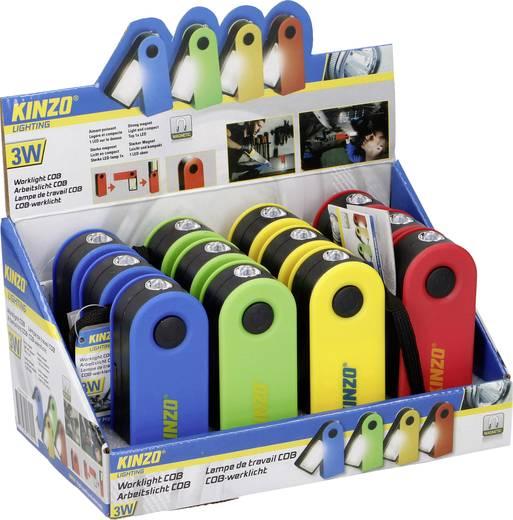 Kinzo LED Arbeitsleuchte mit Handschlaufe, mit Magnethalterung batteriebetrieben 100 g