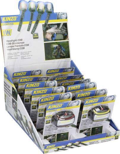 Kinzo LED Stirnlampe verstellbar batteriebetrieben 60 lm 50 g