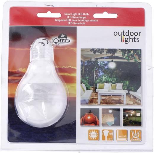 Outdoor Lights Solar-Dekoleuchte Glühlampe LED Weiß