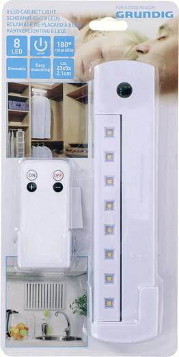 Grundig LED-Schrankleuchte Warm-Weiß Weiß