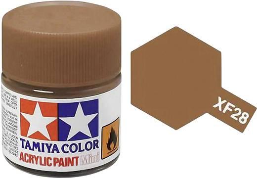 Tamiya 81328 Acrylfarbe Dunkel-Kupfer Farbcode: XF-28 Glasbehälter 23 ml