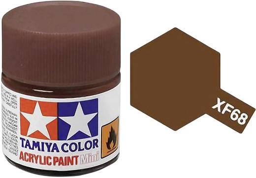 Tamiya Acrylfarbe Nato-Braun matt Farb-Code: XF-68 Glasbehälter 10 ml