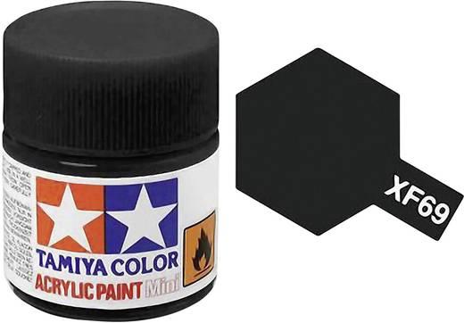 Tamiya Acrylfarbe Nato-Schwarz matt Farb-Code: XF-69 Glasbehälter 10 ml