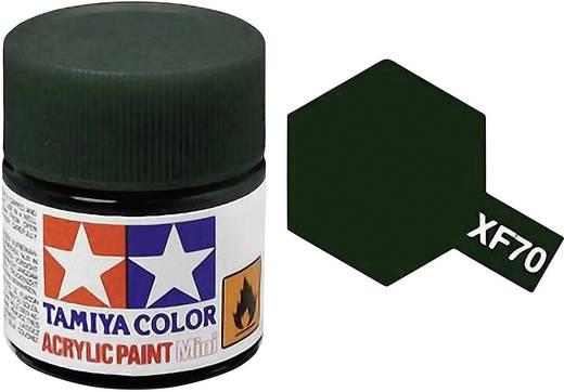 Tamiya 81370 Acrylfarbe Dunkel-Grün (matt) Farbcode: XF-70 Glasbehälter 23 ml