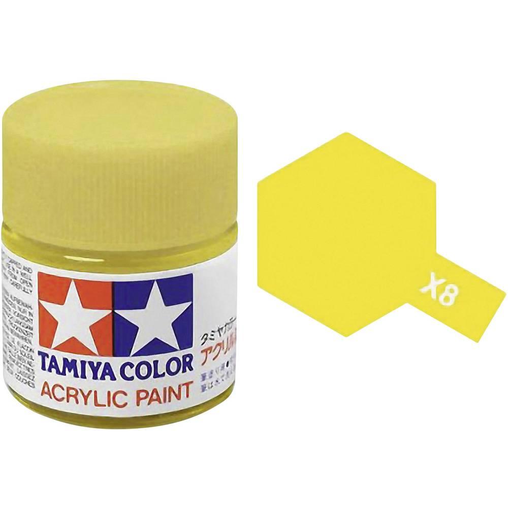 peinture acrylique pour a rographe tamiya 81008 jaune citron brillant 23 ml sur le site. Black Bedroom Furniture Sets. Home Design Ideas