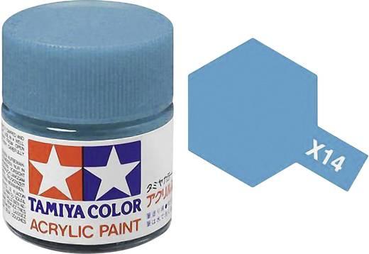 Tamiya 81014 Acrylfarbe Himmel-Blau Farbcode: X-14 Glasbehälter 23 ml