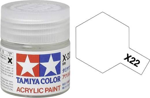 Tamiya 81022 Acrylfarbe Klar (glänzend) Farbcode: X-22 Glasbehälter 23 ml