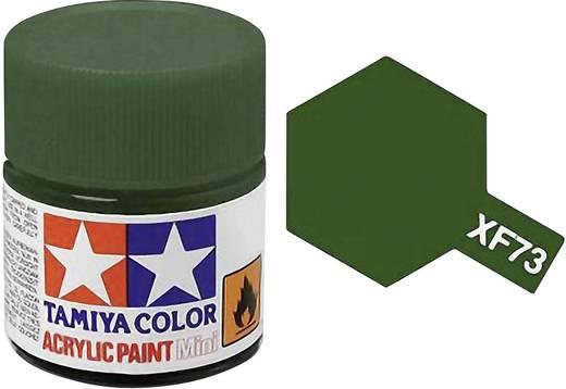 Tamiya Acrylfarbe Dunkel-Grün matt Farb-Code: XF-73 Glasbehälter 10 ml