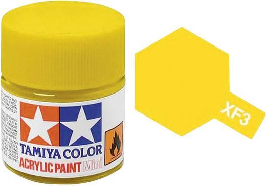 Tamiya 81303 Acrylfarbe Gelb (matt) Farbcode: XF-3 Glasbehälter 23 ml