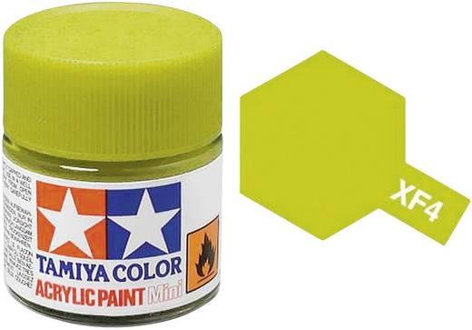 Tamiya Acrylfarbe Gelb-Grün matt Farb-Code: XF-04 Glasbehälter 10 ml