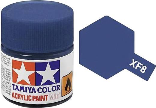 Tamiya XF-8 Acrylfarbe Blau (matt) Farbcode: XF-8 Glasbehälter 23 ml
