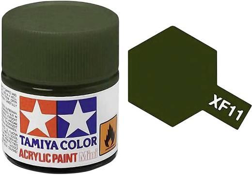 Tamiya Acrylfarbe Jap. Navy-Grün matt Farb-Code: XF-11 Glasbehälter 10 ml