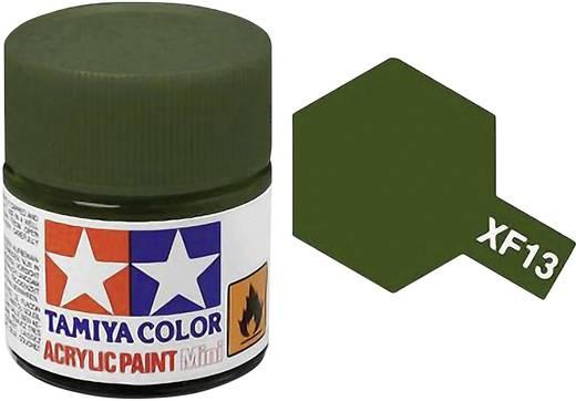 Tamiya Acrylfarbe Jap. Army-Grün matt Farb-Code: XF-13 Glasbehälter 10 ml