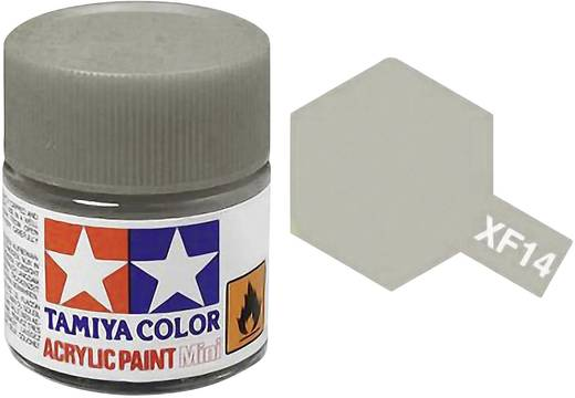 Tamiya 81314 Acrylfarbe Jap. Army-Grau Farbcode: XF-14 Glasbehälter 23 ml