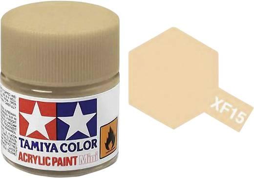 Tamiya 81315 Acrylfarbe Haut-Farbe Farbcode: XF-15 Glasbehälter 23 ml