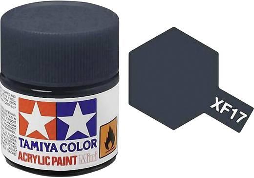 Tamiya Acrylfarbe See-Blau matt Farb-Code: XF-17 Glasbehälter 10 ml