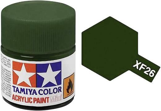 Tamiya 81326 Acrylfarbe Dunkel-Grün Farbcode: XF-26 Glasbehälter 23 ml