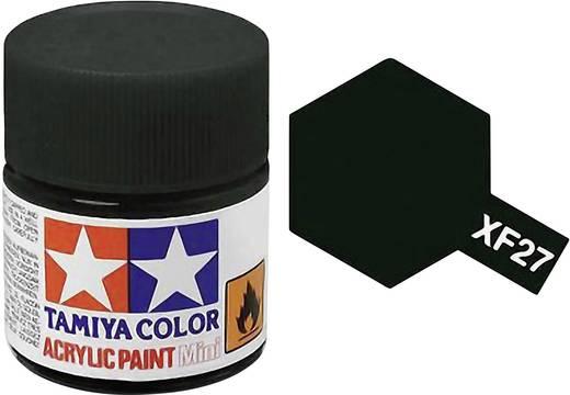 Tamiya Acrylfarbe Schwarz-Grün matt Farb-Code: XF-27 Glasbehälter 10 ml