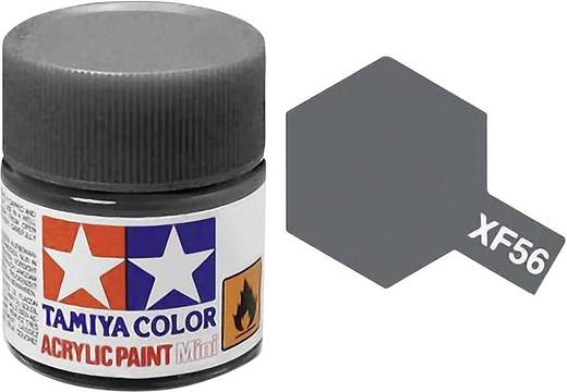 Tamiya Acrylfarbe Grau (Metallgehäuse) matt Farb-Code: XF-56 Glasbehälter 10 ml