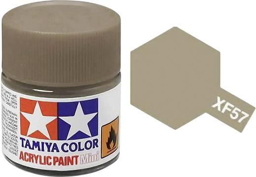 Tamiya 81357 Acrylfarbe Buff (Gelbbraun) (matt) Farbcode: XF-57 Glasbehälter 23 ml