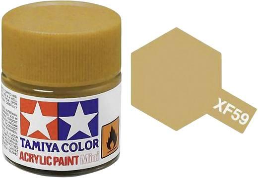 Tamiya 81359 Acrylfarbe Wüsten-Gelb Farbcode: XF-59 Glasbehälter 23 ml
