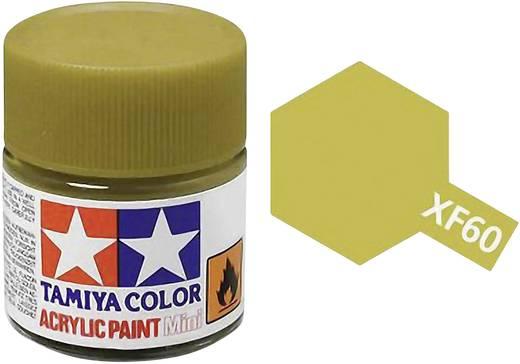 Tamiya Acrylfarbe Dunkel-Gelb matt Farb-Code: XF-60 Glasbehälter 10 ml