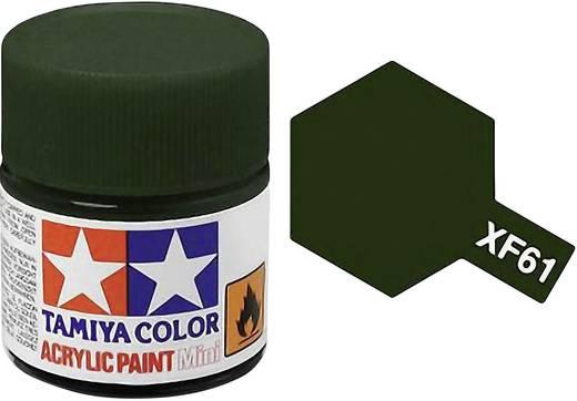 Tamiya Acrylfarbe Dunkel-Grün matt Farb-Code: XF-61 Glasbehälter 10 ml