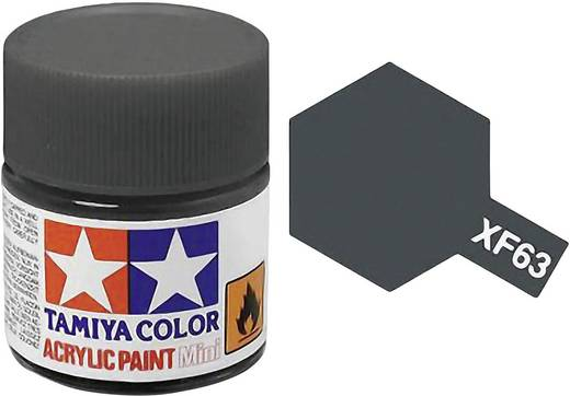 Tamiya 81363 Acrylfarbe German-Grau Farbcode: XF-63 Glasbehälter 23 ml