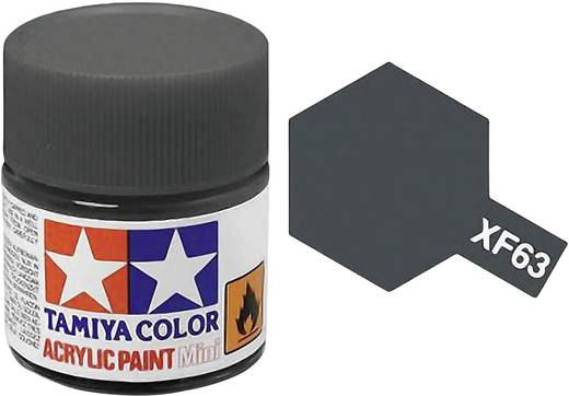 Tamiya 81363 Acrylfarbe German-Grau (matt) Farbcode: XF-63 Glasbehälter 23 ml