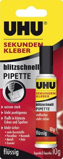 UHU blitzschnelle Pipette Mehrzweckkleber 48795 10 g