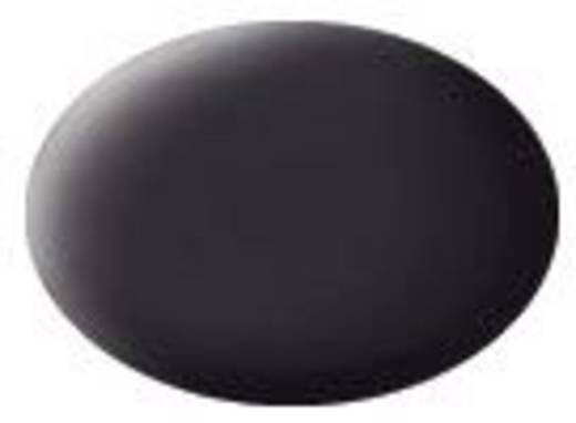 Revell 36106 Aqua-Farbe Teer-Schwarz (matt) Farbcode: 36106 RAL-Farbcode: 9021 Dose 18 ml