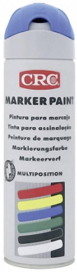 Image of CRC 10160 MARKER PAINT - Markierungsfarbe temporär Leucht-Blau 500 ml