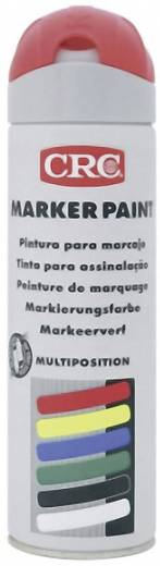 CRC 10155 MARKER PAINT - Markierungsfarbe temporär Leucht-Rot 500 ml