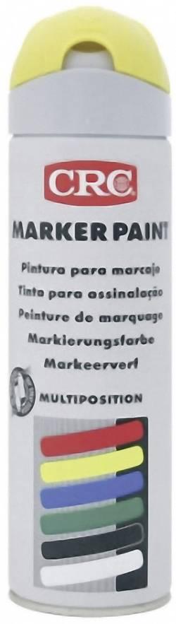 Image of CRC 10154 MARKER PAINT - Markierungsfarbe temporär Gelb (matt) 500 ml