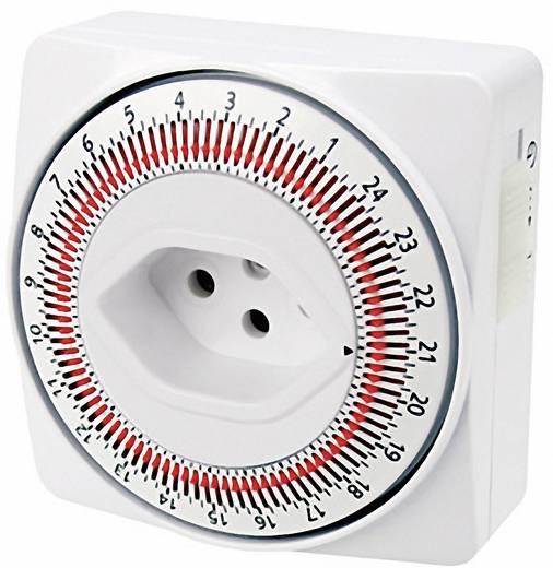 steckdosen zeitschaltuhr mechanisch ip20 mit schaltm glichkeit alle 15 minuten steffen. Black Bedroom Furniture Sets. Home Design Ideas