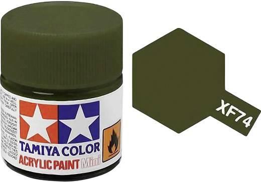 Tamiya Acrylfarbe Braunoliv (matt) matt Farb-Code: XF-74 Glasbehälter 10 ml