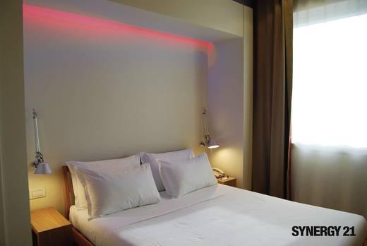 Allnet LED-Streifen-Komplettset mit Stecker 12 V 500 cm RGB 78112