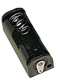 Image of 770248 Batteriehalter 1x Lady (N) (L x B x H) 35 x 13 x 12 mm