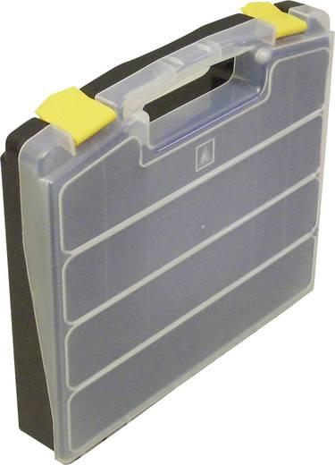 Sortimentskoffer (L x B x H) 340 x 230 x 55 mm VISO Anzahl Fächer: 24 feste Unterteilung